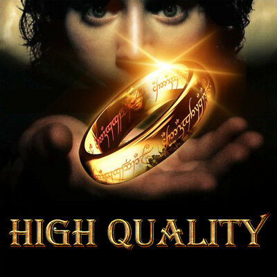 movie style high quality stainless steel men and women one ring fashion popul...