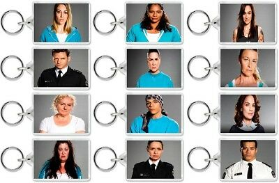 Wentworth Prison Keyrings TV And DVD Inspired Birthday, Christmas, UK Gift