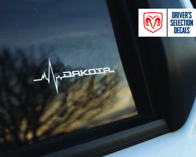 Dodge Dakota is in my Blood window sticker decals graphic