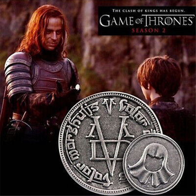 kokoer New fashion Game Of Thrones The coin A Song of Ice and Fire Faceless M...