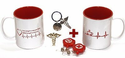 (7) Piece Medical Professional/Nurses 11 .oz Coffee Cup Gift Pack