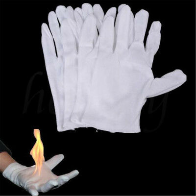 1/2 Pair Magic Fire Gloves Bring Fire from Glove Palm Magic Props Magic Trick