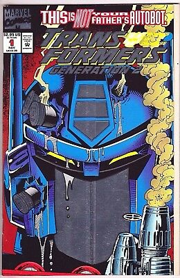Transformers Generation 2#1 Nm 1993  Marvel Comics