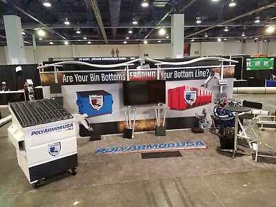 TRADE SHOW BOOTH [20Ft Timberline Hybrid Modular Straight Display W/ Slat Wall]