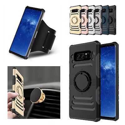 For Samsung Note 9/8/S8/S9+ Gym Sport Hybrid Running Jogging Arm Band Case Cover