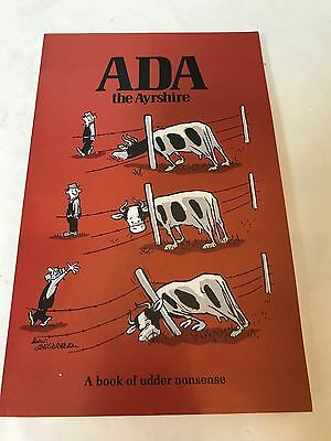 NEW IN BOX ADA THE AYRSHIRE-A BOOK OF UDDER NONSENSE by COUNTRYSIDE PRESS (1970)