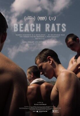 POSTER Beach Rats (USA, 2017) Harris Dickinson, Madeline Weinstein, Kate Hodge A