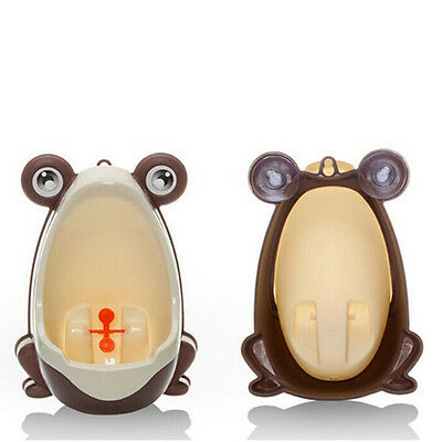 Frog Kids Children Potty Toilet Training Baby Boy Urinal Pee Trainer Bathroom