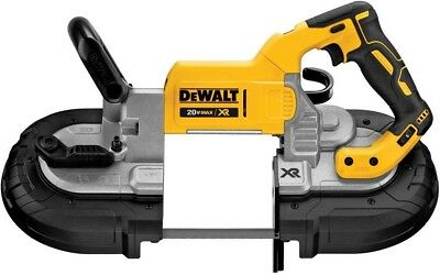 DEWALT 20-Volt MAX Lithium-Ion Cordless Brushless Deep Cut Band Saw (Tool-Only)