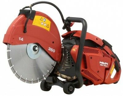 Hilti DSH 700-X 70CC 14 in. Hand Held Gas Saw with Blades