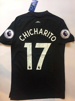 official photos 59ce3 61ddb WEST HAM UNITED Chicharito Soccer Jersey away Premier League Patches