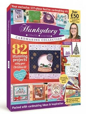 Hunkydory Design Collection Box Magazine Issue 2 & free gifts worth over £50!