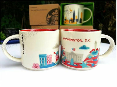 14oz Starbucks Washington You Are Here Coffee Mug Cup