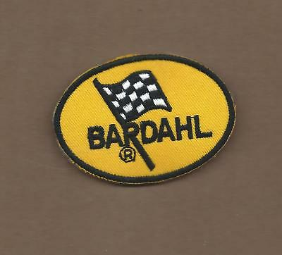 New 2 1/8 X 3 Inch Bardahl Racing Oil Iron On Patch Free Shipping