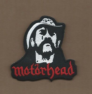 New 3 7/8 Inch Lemme Motorhead Iron On Patch Free Shipping