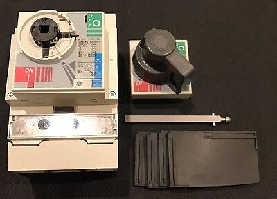 GE Record Plus FE250 Circuit Breaker With Door Kit FEN306F250KF 250A 3 Phase