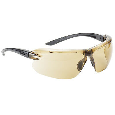 4c667c1a7d BOLLE IRI-S SAFETY Glasses with Black Temples and Clear Anti-Fog ...