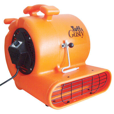 Tough & Gusty TG10-3CDO 1040 CFM 10-Inch 3-Speed Portable Carpet Dryer, Orange