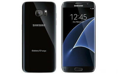 New Samsung Galaxy S7 Edge G935T 32Gb T-Mobile Unlocked Black Smartphone
