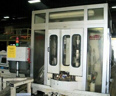 Sunnen MHS-802 Vertical CNC Honing/Grinding w/Rotary Indexing Production Table