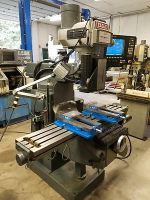 "Eagle 3-Axis CNC Knee Mill w/Anilam 5300MX Control 10""x54"" Table w/Tooling"