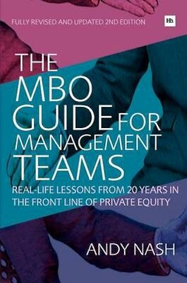 NEW The Mbo Guide For Management Teams by Andy Nash BOOK (Paperback) Free P&H