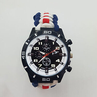Paracord Watch with Royal Navy (RN) Colours a Great Gift