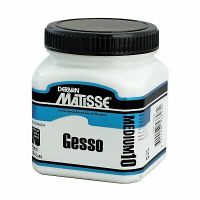 Matisse White Gesso  MM10 - 250ml, On Special