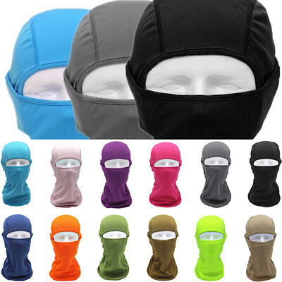 Balaclava Full Face Mask Cycling Ultra Summer Sun Protection Head Cover Unisex
