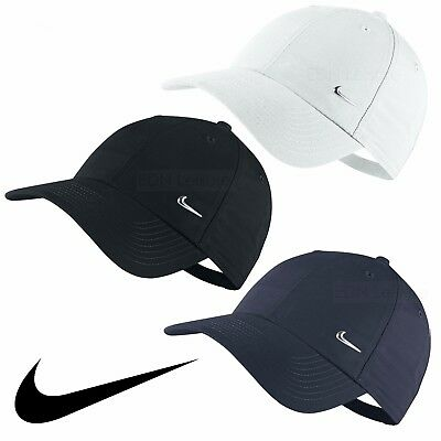 626119b266533 ... coupon code for nike swoosh logo cap running golf baseball hat black  navy white mens womens
