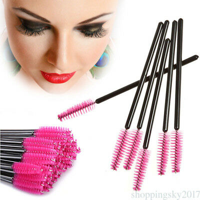 Disposable Comb Brush Lash Eyebrow Cosmetic 50 pcs Makeup Eyelash Extension DT6