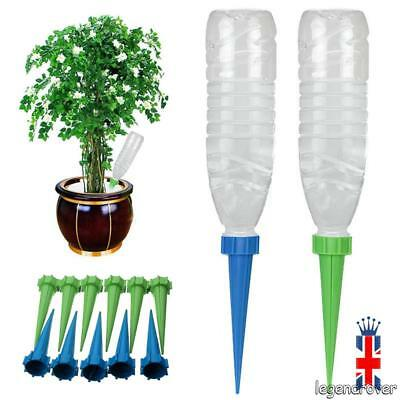 20pcs Automatic Watering Irrigation Spike Garden Plant Flower Drip Sprinkler UK