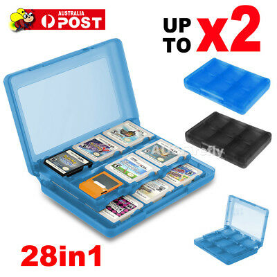 28in1 Game Card Case Holder Cartridge Storage for Nintendo 2DS/3DS/DSL/DSi/NDXL