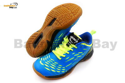 Apacs Cushion Power 079 Blue Apple Green Badminton Shoes