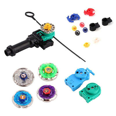 Bayblade Fusion Top Set Spinning Metal Fight Master 4D Launcher Grip Set Toy