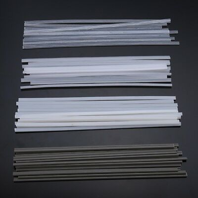 50pcs Plastic Welding Rods ABS/PP/PVC/PE Welding Sticks For Plastic Welder
