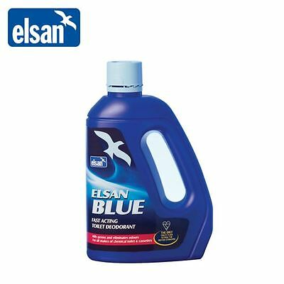 Elsan Blue Toilet Fluid Chemical Cleaner For Caravan Motorhome Boat 4L