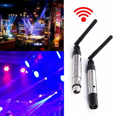 2pcs 2.4G DMX512 Wireless Receiver & Transmitter for Stage Light Free Shipping