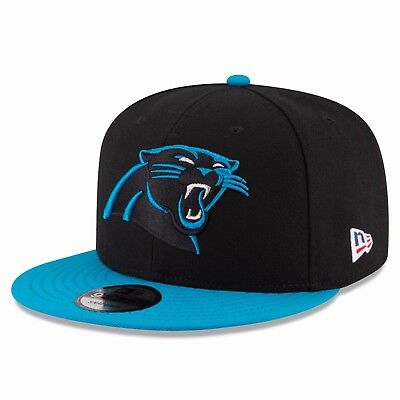 Carolina Panthers New Era Crafted in America LP 9FIFTY Snapback Cap M135