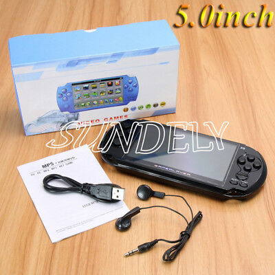 X9 64Bit 5.0inch 8G Handheld Retro Game Console Video MP5 Player Camera AU Gift
