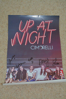 CIMORELLI  signed Autogramm In Person 30x40 cm POSTER