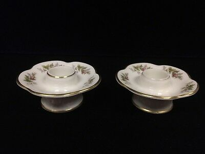 Vintage Moliere Rosenthal Candle Stick Holders