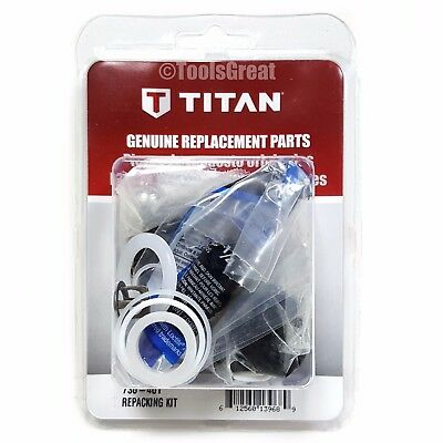 Titan Pump Packing Repair Kit 730-401 for Impact 440i 640i Repacking Kit 730401
