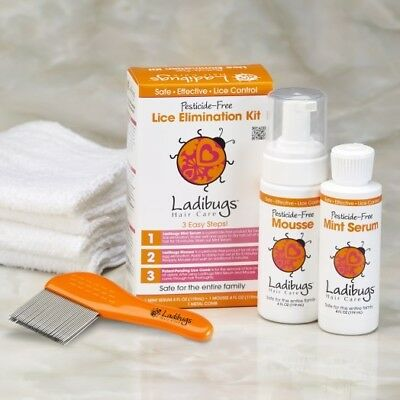 Lice Elimination Kit, LADIBUGS,