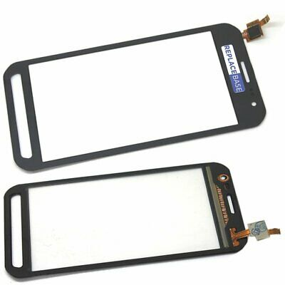 For Samsung Xcover 3 G389F Touch Screen Digitizer With Adhesive Grey Black OEM