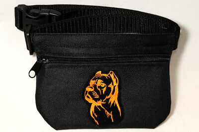 Cane Corso gift - Embroidered Dog treat pouch/bag - for dog shows & training.