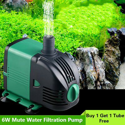 Aquarium Filtration Circulating Pump Silent Small Household Draw for Water Pond