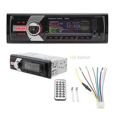 Car Stereo Audio In-Dash FM Input Receiver SD AUX USB MP3 Radio Player 6243 RO