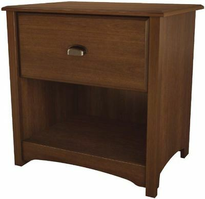 South Shore Furniture Willow Collection, Night Table, Sumptous Cherry