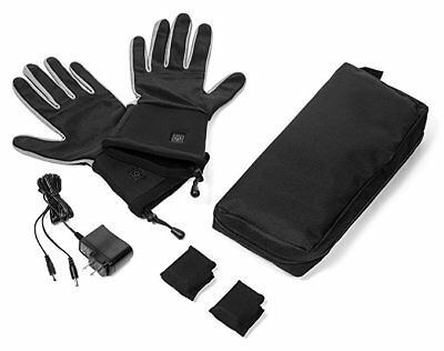 Verseo Electric ThermoGloves Rechargeable Battery Heated Gloves Small Medium S/M